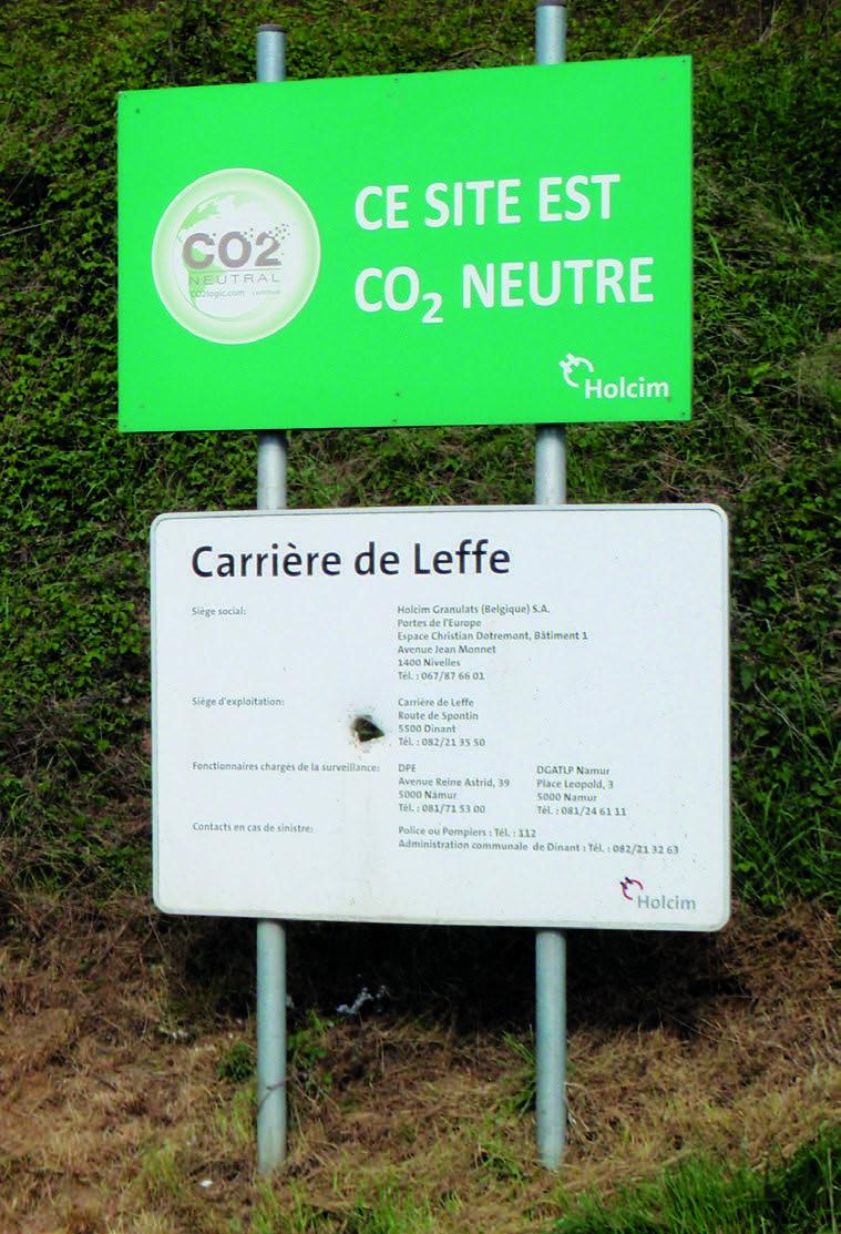 Life in quarries - La Carrière de Leffe