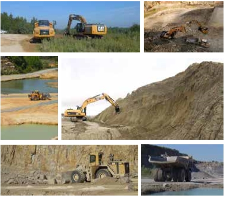 life in quarries - actions