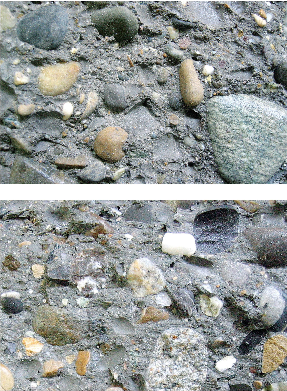surface de rupture du beton a resistance normale